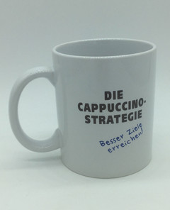 Motivations-Tasse Cappuccino-Strategie
